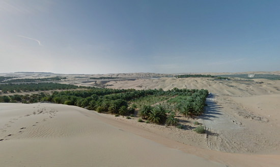 google-liwa-desert-view Google Desert View comes to life courtesy of a camel Fun