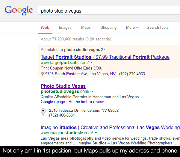 googlerank How To Rank In Google Search As A Local Photography Business Business Tips