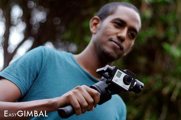 GoPro Hero3 gimbal