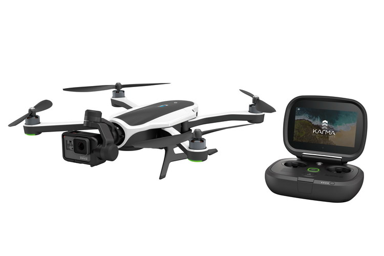 gopro-karma-drone-and-controller GoPro Karma revealed as much more than a drone News and Reviews