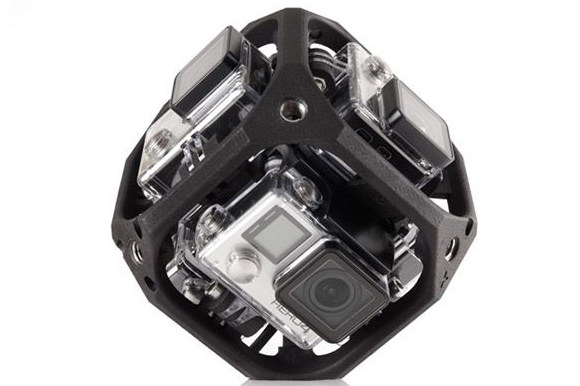 GoPro Six-Camera mount