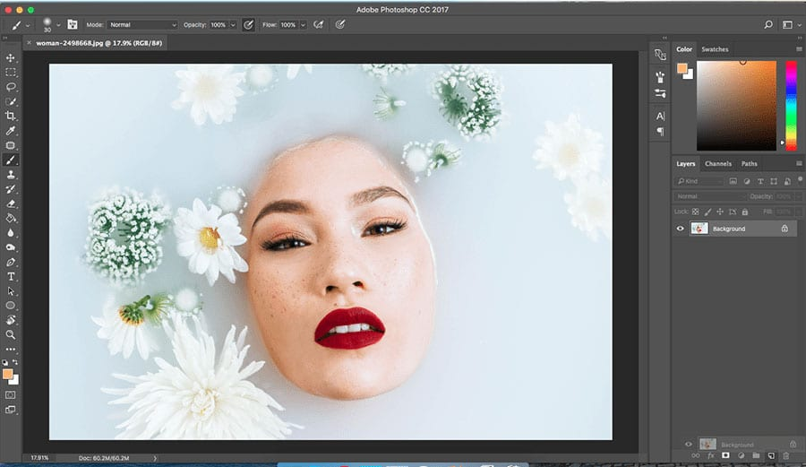 gorgeous-composition How to Selectively Desaturate Images in Photoshop Photo Editing Tips