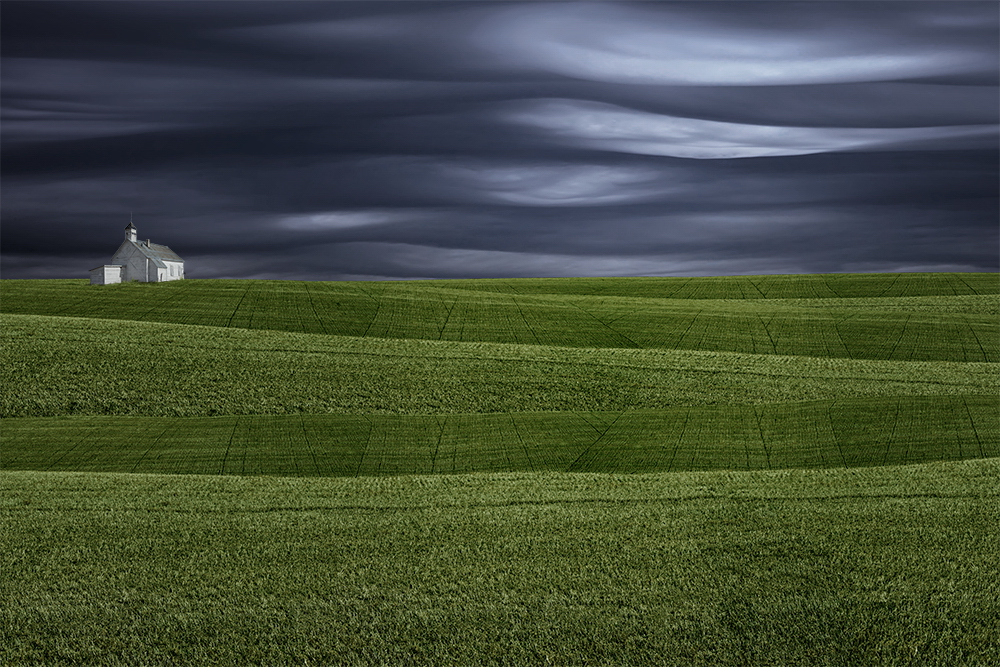"green-hills Breathtaking ""Abstract Landscapes"" depict rural surrealism Exposure"