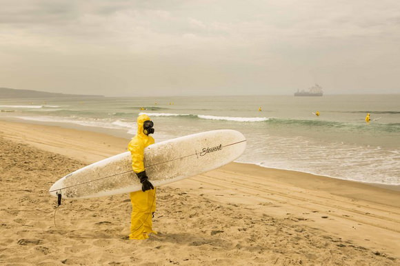 Hazmat Surfing by Michael Dyrland