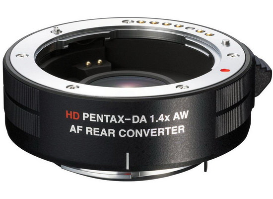 hd-pentax-da-1.4x-aw-af-rear-converter Ricoh WG-20 and Ricoh WG-4 / WG-4 GPS rugged compact cameras announced News and Reviews
