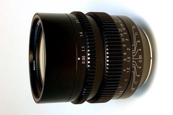 HyperPrime Cine 50mm T0.95
