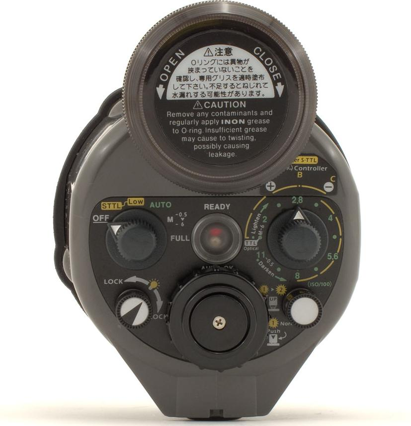 inon-z-240-underwater-strobe Underwater photography equipment used by a professional Exposure