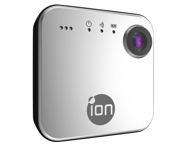 ion-snapcam iON SnapCam is a cute WiFi-enabled wearable camera News and Reviews