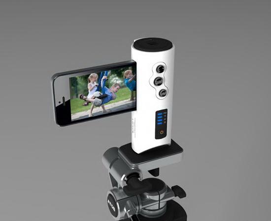 iphone-shutter-grip-tripod-mount DCkina unveils gorgeous iPhone Shutter Grip News and Reviews