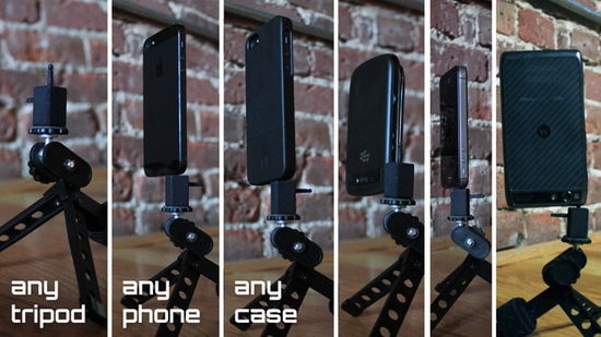jackpod-iphone-android-blackberry-windows-phone JackPod seeks funding to become a universal smartphone tripod mount News and Reviews