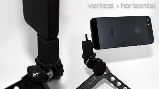 jackpod JackPod seeks funding to become a universal smartphone tripod mount News and Reviews