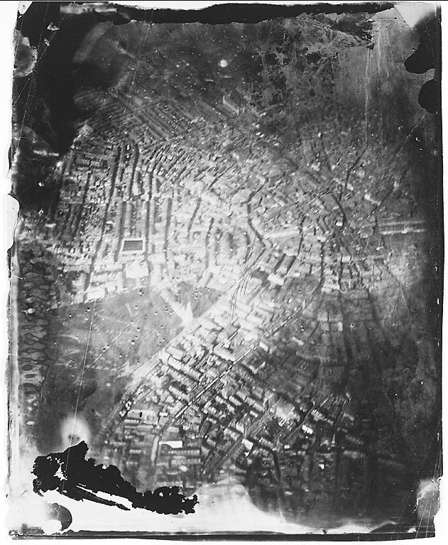 james-wallace-black-aerial-image Oldest piece of aerial photography shot over Boston in 1860 Exposure