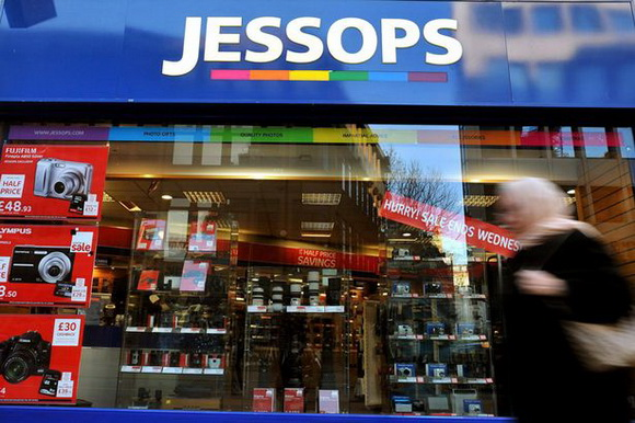 Jessops website and stores relaunching today
