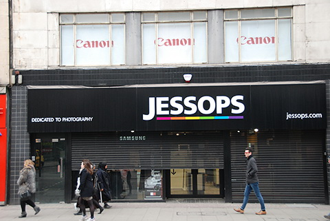 jessops-store-opening-rumor Jessops outlet opening in London this week, along with online store Rumors