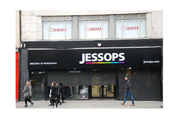 Jessops store reopening in Oxford Street, London