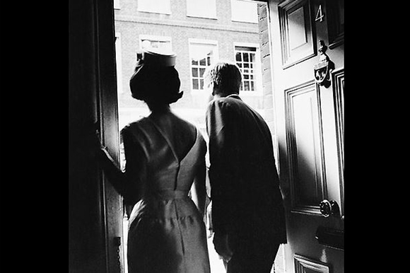 John F, Kennedy and his wife, Jackie