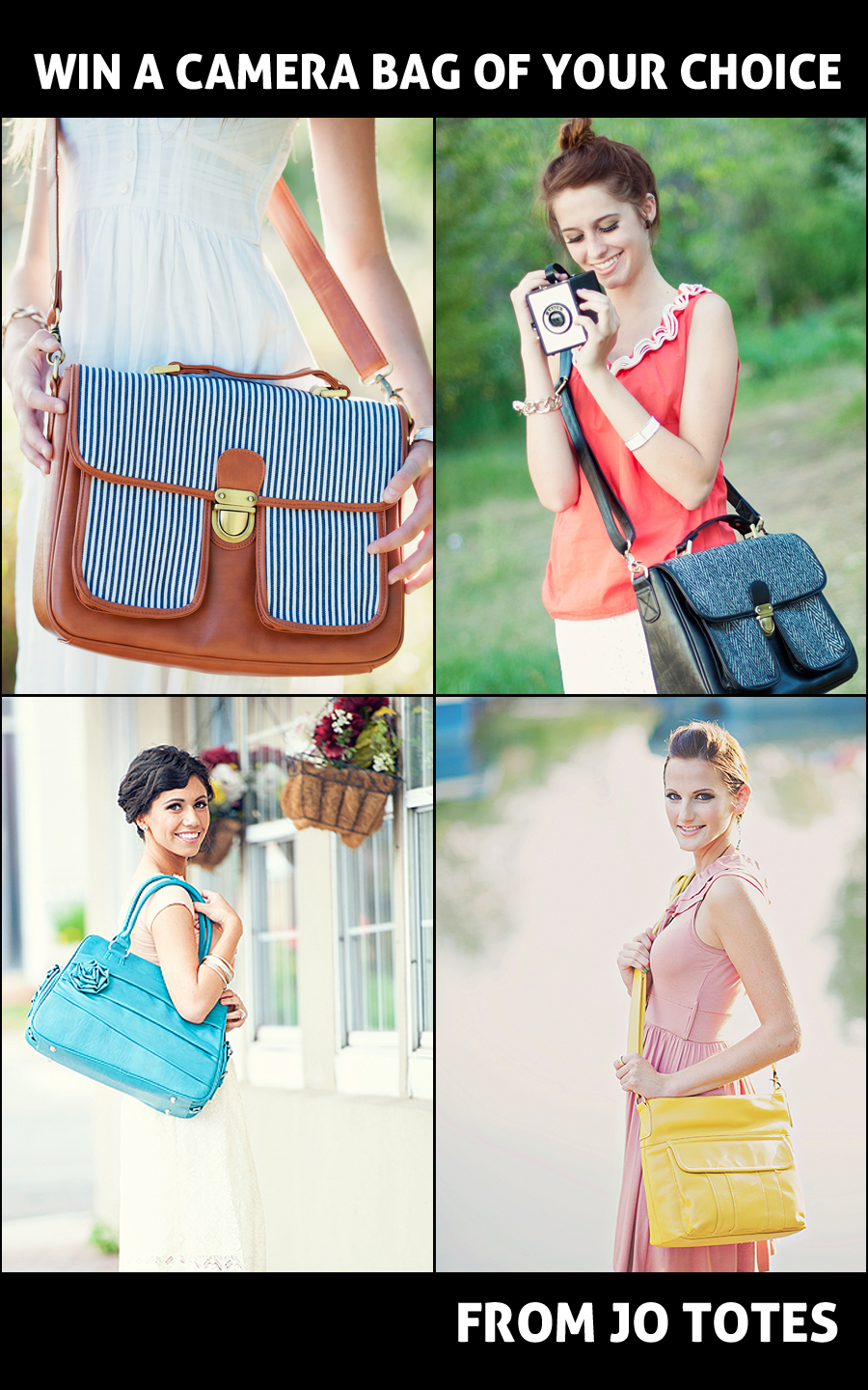 jo-totes-camera-bag Win a NEW Camera Bag {You Pick the Style and Color} Contests