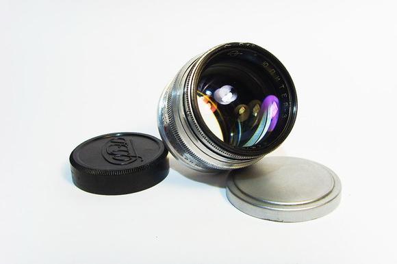 Jupiter 3 1.5/50mm lens