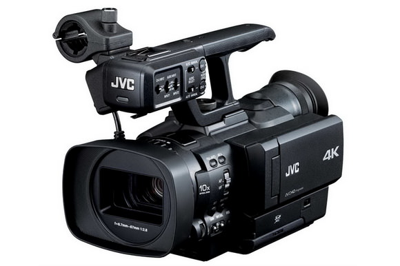 JVC 4K video camera