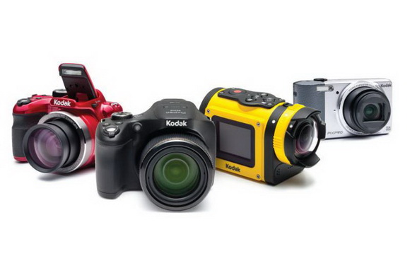 Kodak cameras at CES 2014