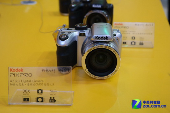 kodak-pixpro-az362-superzoom-camera New Kodak mirrorless camera caught in action at P&E Show 2013 News and Reviews