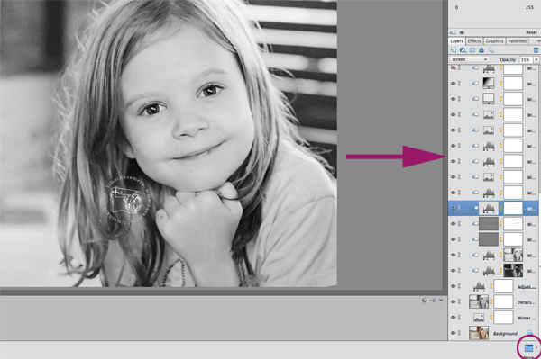 layer-names-graphic How to Make Layer Names Visible in PS Elements Photoshop Tips & Tutorials