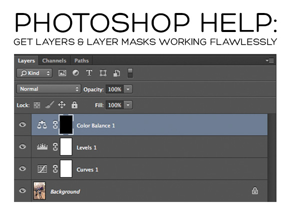 layers-masks Photoshop Help: Get Your Layers & Layer Masks Working Flawlessly Photoshop Actions Photoshop Tips & Tutorials Video Tutorials