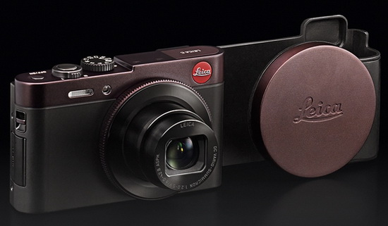 leica-c-dark-red Leica C Type 112 camera gets official with Panasonic LF1 specs News and Reviews