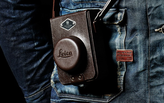 """leica-d-lux-6-edition-by-g-star-raw-leather-strap Leica D-Lux 6 """"Edition by G-Star RAW"""" officially announced News and Reviews"""