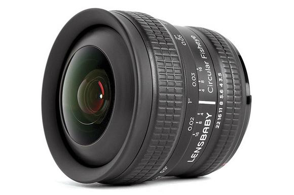 Lensbaby 5.8mm f/3.5