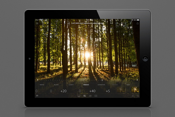 Lightroom for iPad