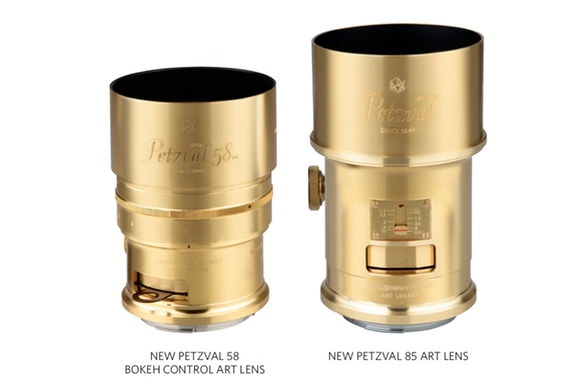 Lomography Petzval lenses
