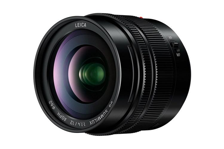 Lumix G Leica DG Summilux 12mm f/1.4 ASPH. lens
