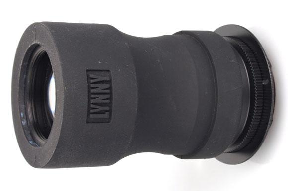 Lynny Lens, in black flexible exterior