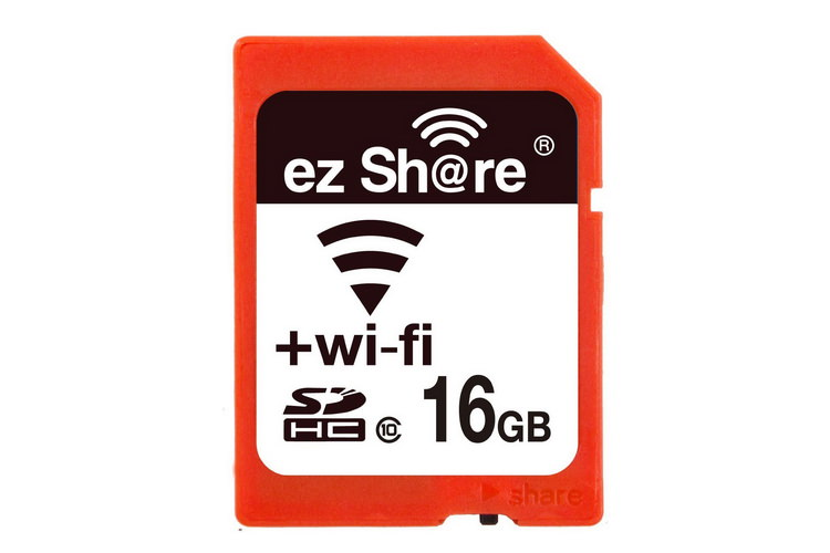 lzeal ez share 16gb wifi sd card