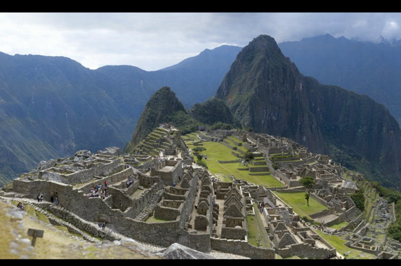 Jeff Cremer captured a 16MP panoramic photo of Machu Picchu