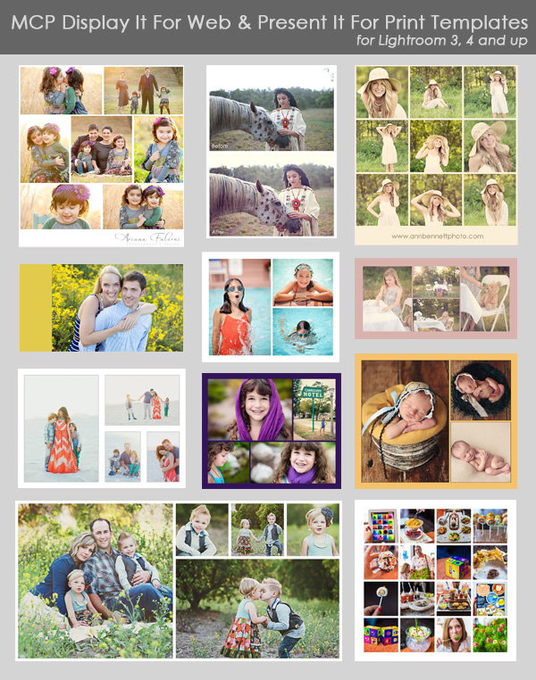 main-graphic New Lightroom Templates and Collages With MCP Lightroom Presets Announcements Lightroom Presets Video Tutorials