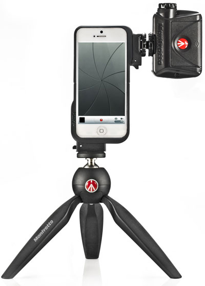 manfrotto-klyp-and-pixi Manfrotto announces KLYP iPhone 5 case, app, and PIXI tripod News and Reviews