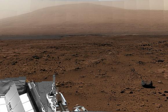 Mars billion-pixel panorama