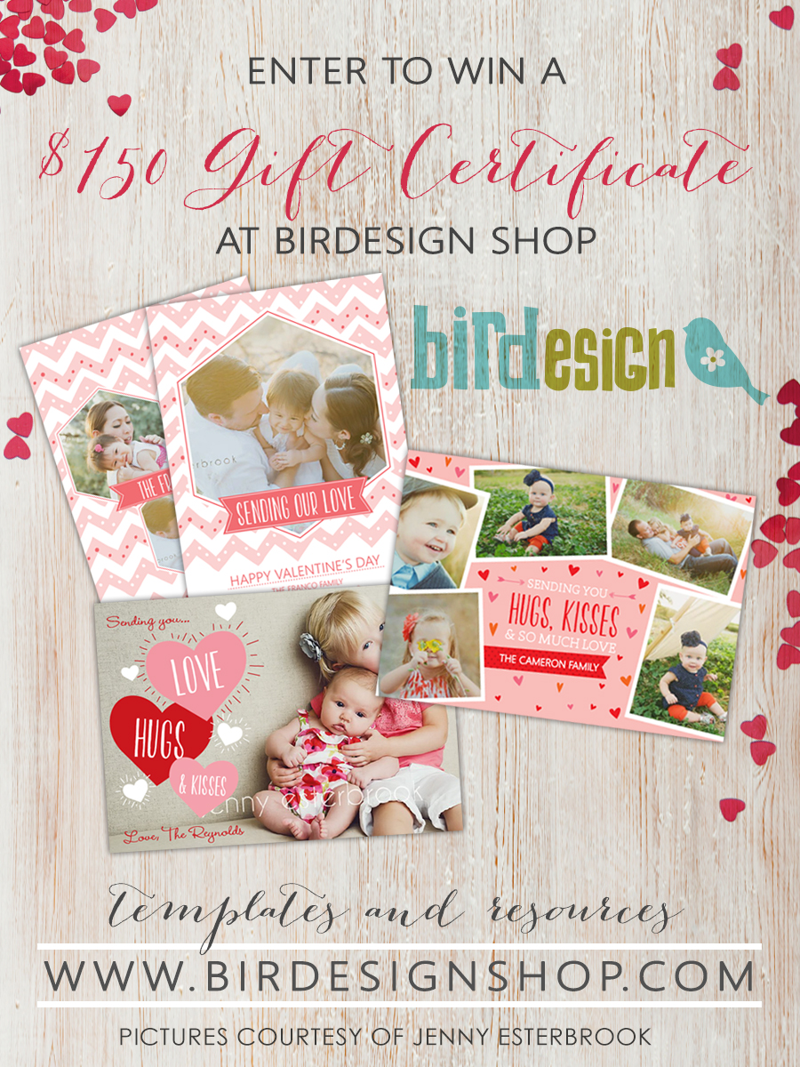 mcp-actions-giveaway Win a $150 Gift Certificate to Birdesign Contests