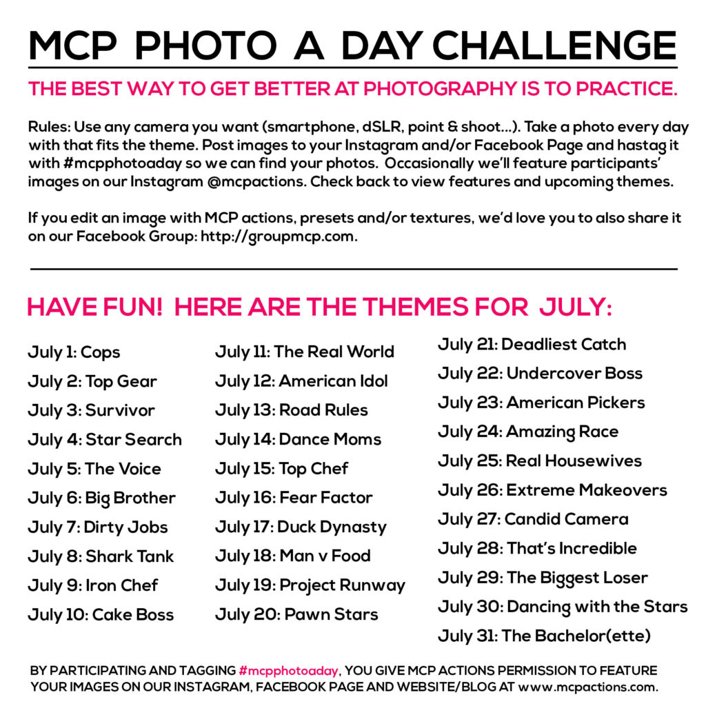 mcpphotoaday july