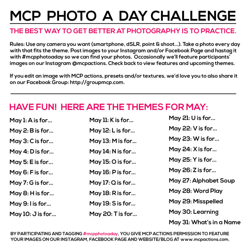 mcpphotoaday may