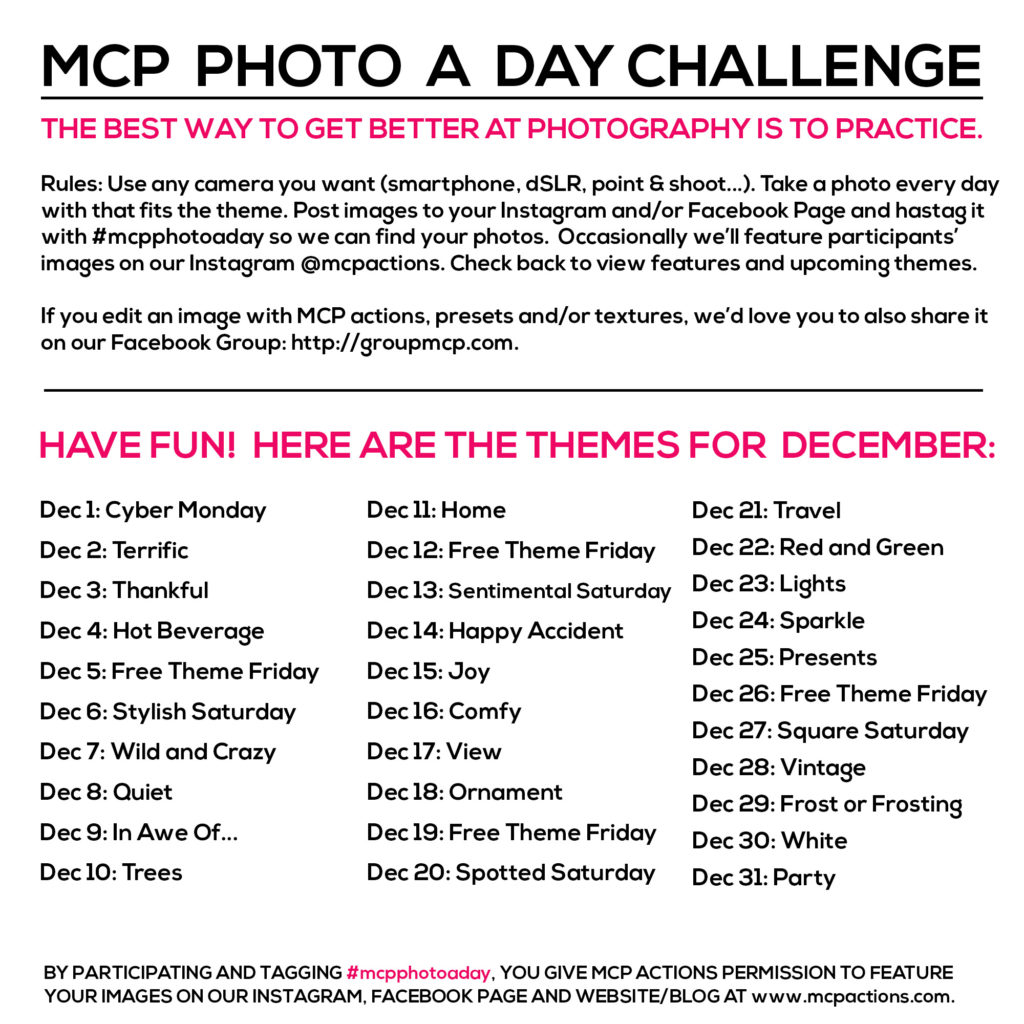 mcpphotoaday december