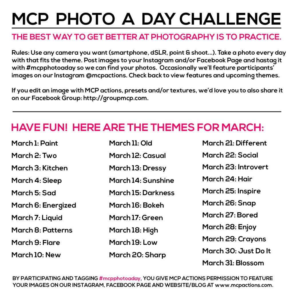 mcpphotoaday march