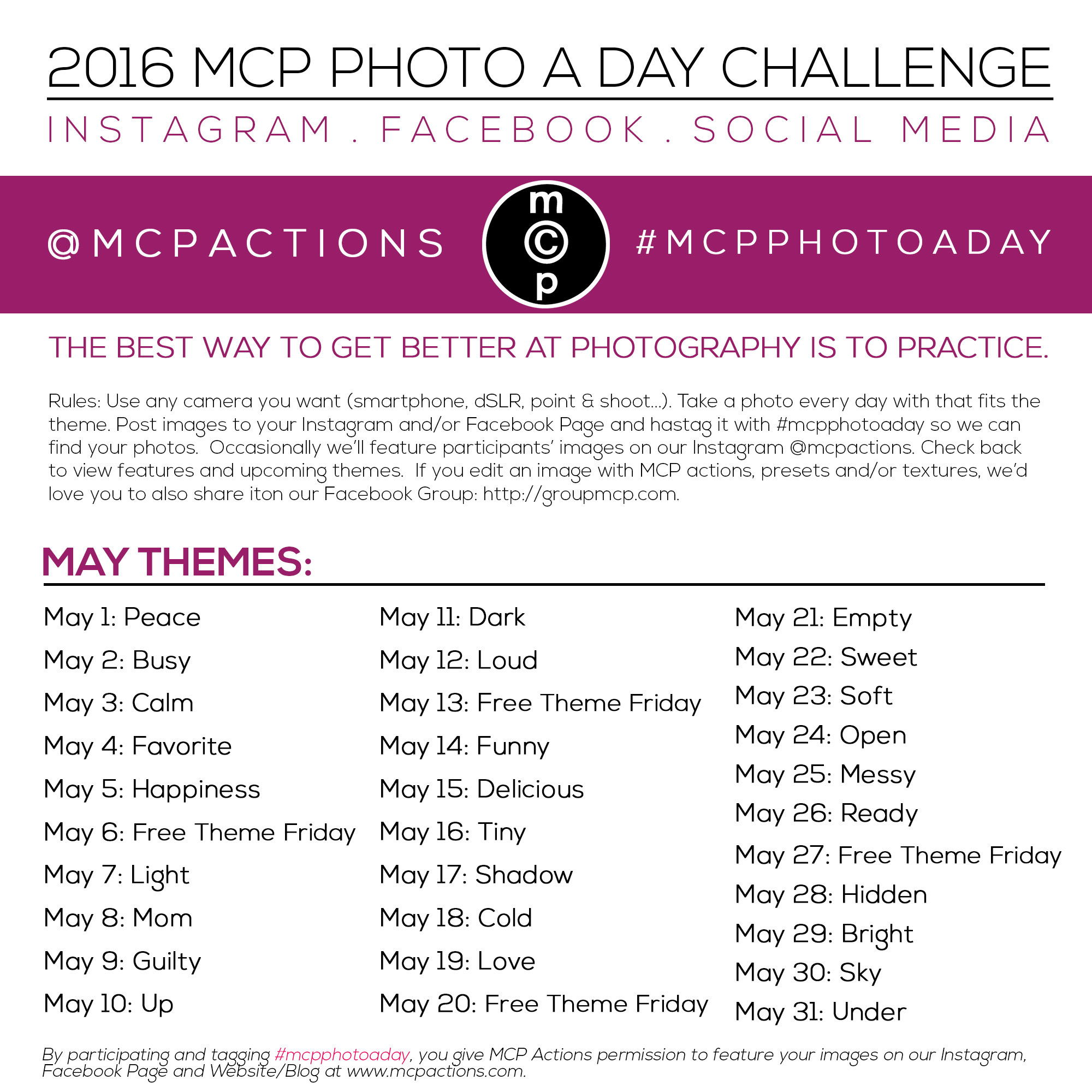 mcpphotoaday-may-2016-2 MCP Photo A Day Challenge: May 2016 Activities Announcements Assignments