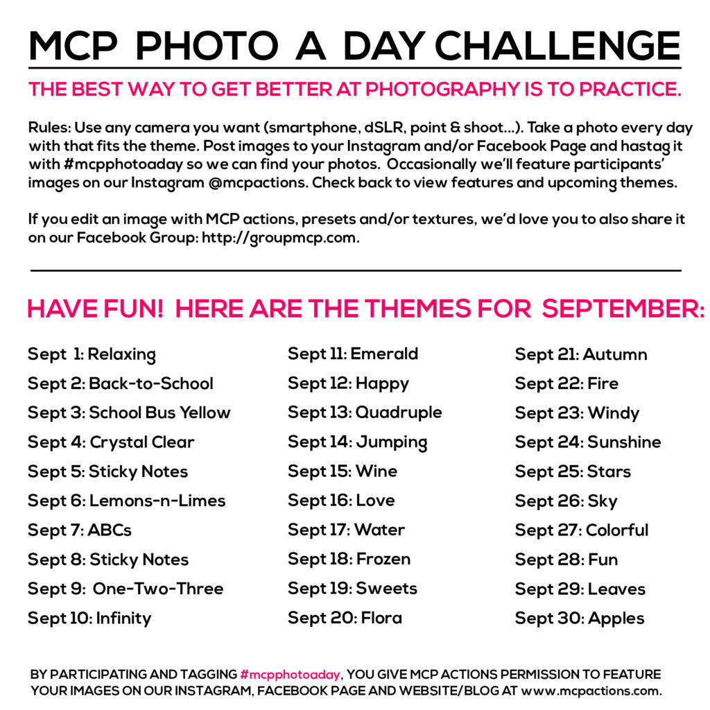 mcpphotoaday september