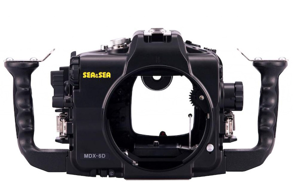 Sea & Sea's MDX-6D underwater housing for Canon's full frame 6D