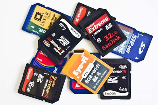 memory-cards Long live the memory card! Tutorials