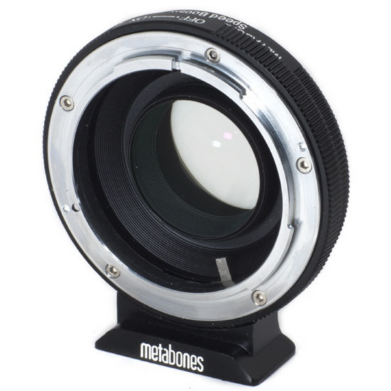 micro-four-thirds-speed-booster Metabones Canon FD to Micro Four Thirds Speed Booster unveiled News and Reviews