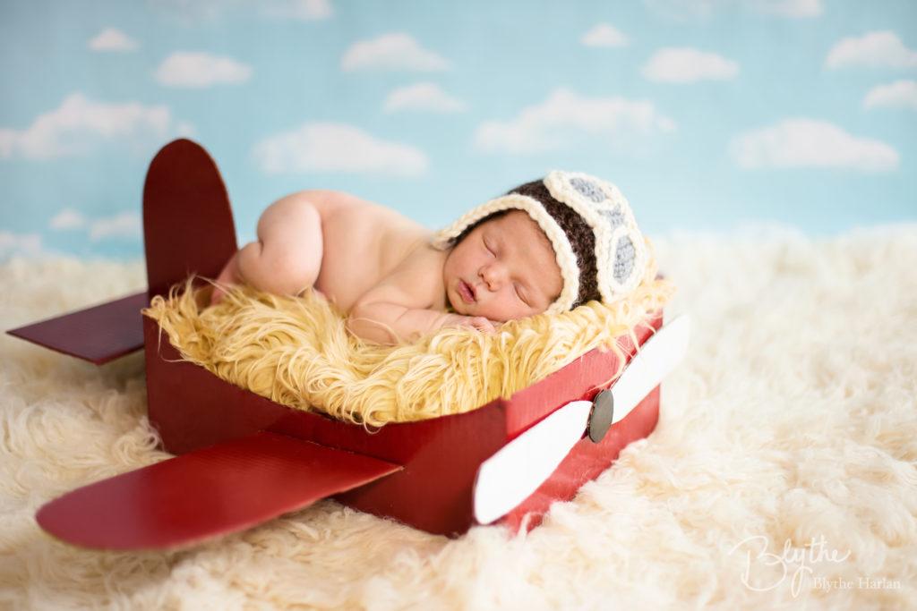 Newborn Plane Prop